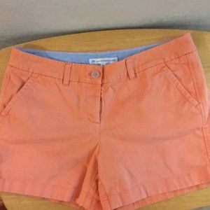 Women's Southern Tide pale orange shorts size 10